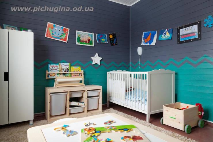 غرفة الاطفال تنفيذ Tatyana Pichugina Design