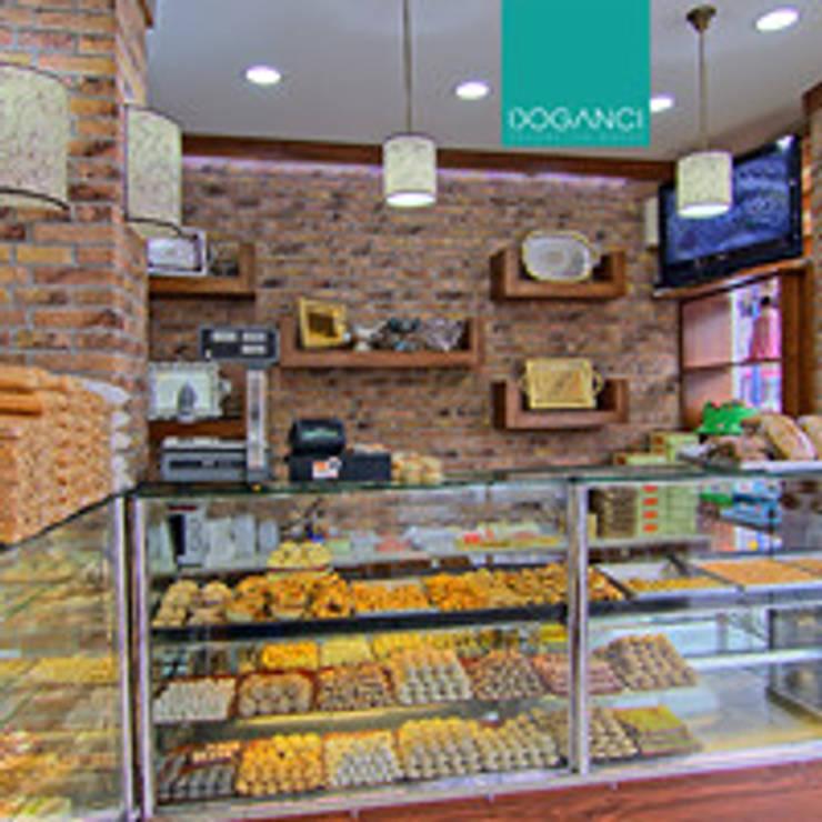 Doğancı Dış Ticaret Ltd. Şti. – Sirkeci Baba pastahanesi:  tarz Duvarlar, Kırsal/Country Tuğla