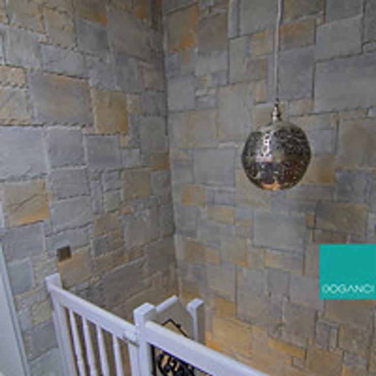 Doğancı Dış Ticaret Ltd. Şti. – Sn. Seher Gökalp Dairesi:  tarz Duvarlar, Kırsal/Country Taş