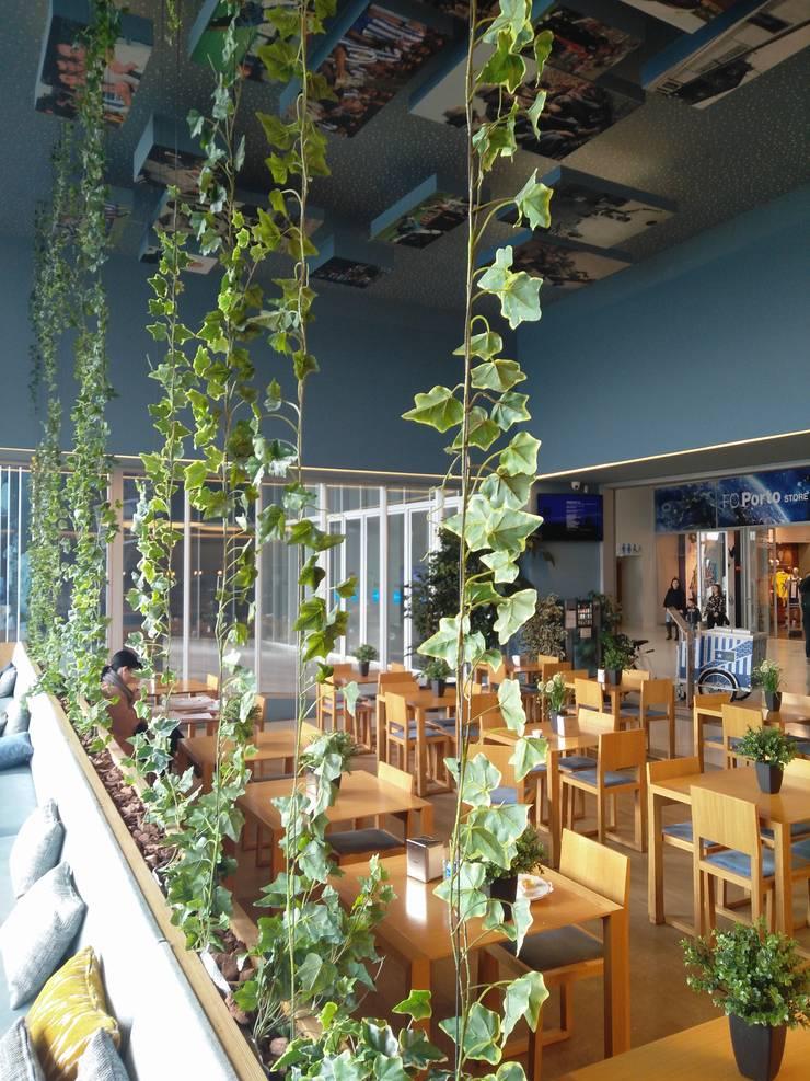 Museu Caffé_FCP: Espaços comerciais  por GRAU.ZERO Arquitectura,Eclético