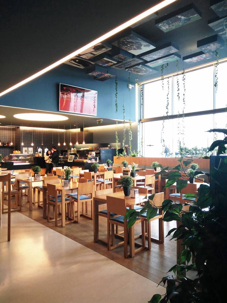 Museu Caffé_FCP: Espaços de restauração  por GRAU.ZERO Arquitectura,Eclético