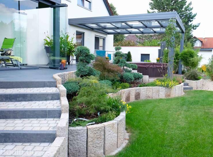 Outdoorküche Zubehör Nürnberg : Gartenumgestaltung mit whirlpool und outdoorküche von bodin