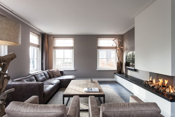 Гостиная в . Автор – Bob Romijnders Architectuur & Interieur