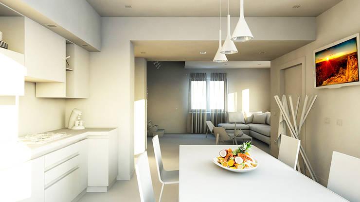 Kitchen by bram architetti, Minimalist Concrete