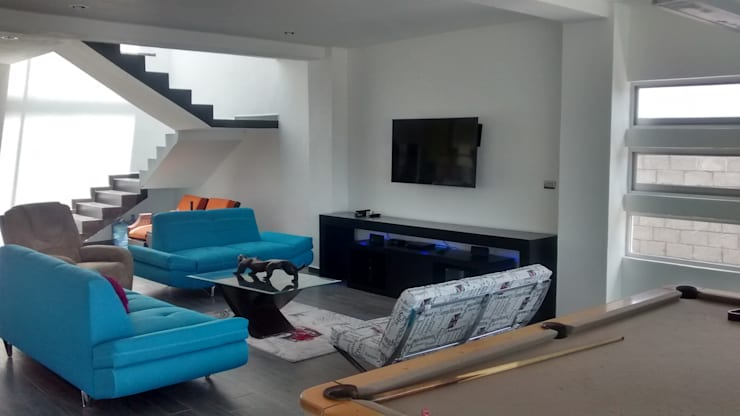 Interior de Sala:  de estilo  por Ipsum Nova