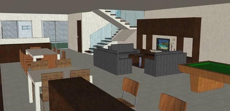 Conceptualizacion de Interior.:  de estilo  por Ipsum Nova