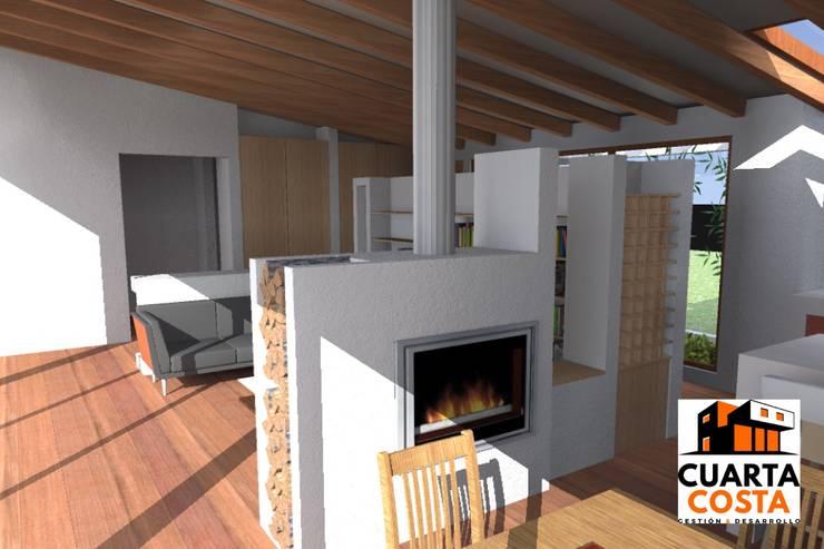 Vivienda 212 m2: Cocinas de estilo  por Cuarta Costa