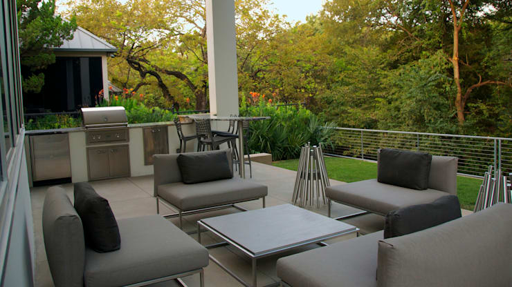 Modern Landscape Design:  Patios & Decks by Matthew Murrey Design