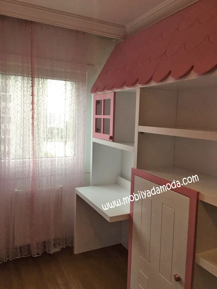MOBİLYADA MODA  – Montessori Ev Konseptli Çocuk Odası, Cemre'nin Odası :  tarz Çocuk Odası