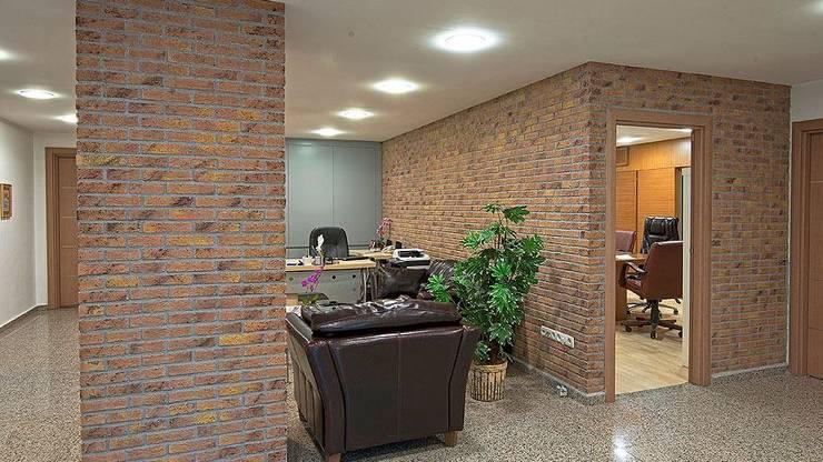 Doğancı Dış Ticaret Ltd. Şti. – Eko Group:  tarz Duvarlar, Modern Tuğla