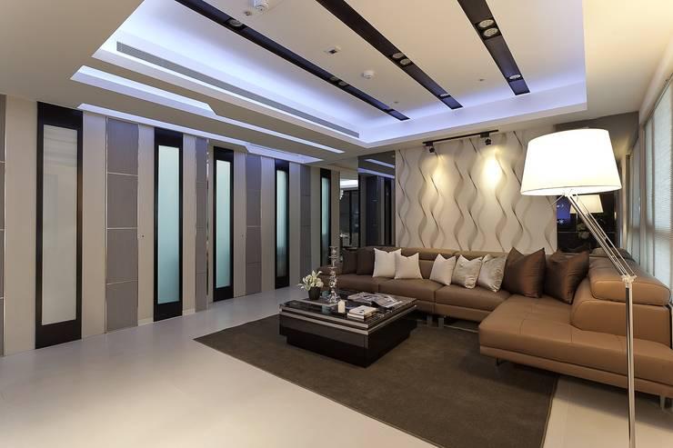 客廳-1:  客廳 by Green Leaf Interior青葉室內設計