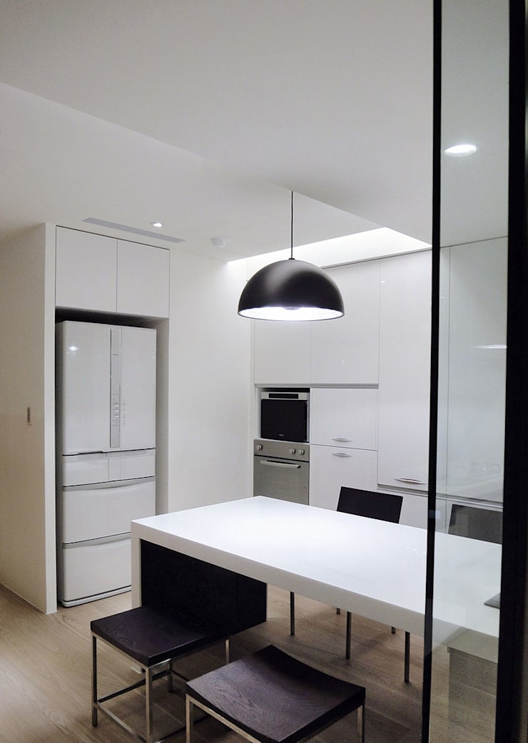 森之丘:  餐廳 by AIRS 艾兒斯國際室內裝修有限公司
