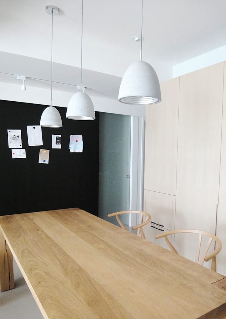 三峽北大:  餐廳 by AIRS 艾兒斯國際室內裝修有限公司