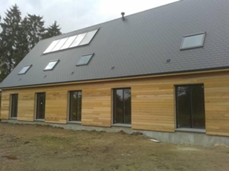 Maison bois par maison eco malin homify - Maison bois eco ...