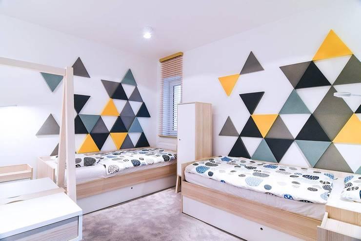 Детские комнаты в . Автор – AS Design Wnętrza, Минимализм