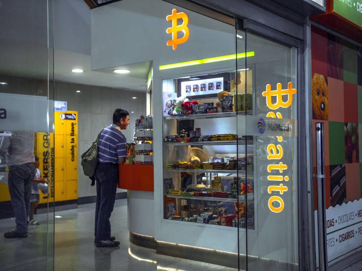 VISTA EXTERIOR: Oficinas y tiendas de estilo  por Gen Arquitectura & Diseño