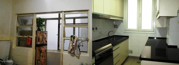Remodelación cocina III: Cocinas de estilo  por AyC Arquitectura