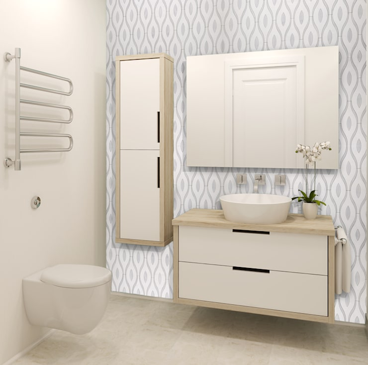 modern Bathroom by Elalux Tile