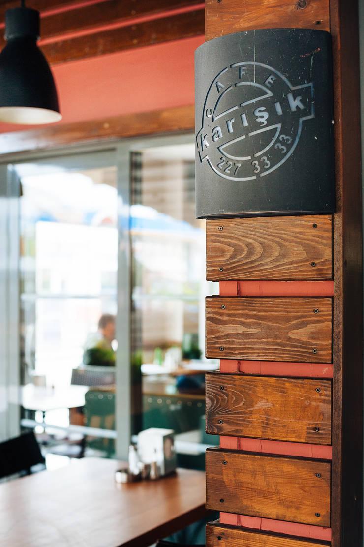 Bilgece Tasarım – Kafe Karışık:  tarz Yeme & İçme, Modern