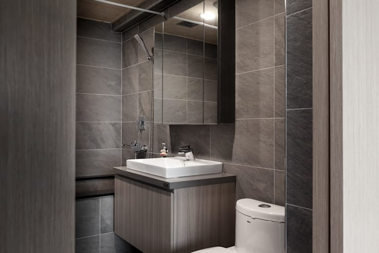 文心大國民:  浴室 by 思維空間設計