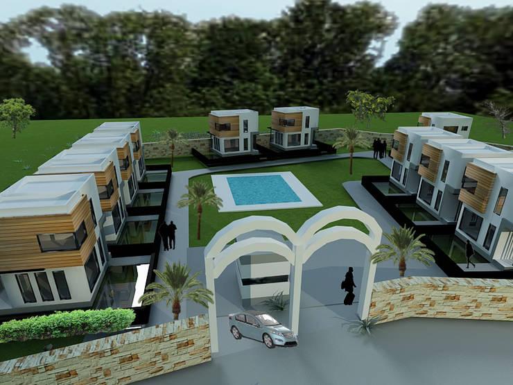 MAHAL MİMARLIK – Bodrum  Site:  tarz Villa