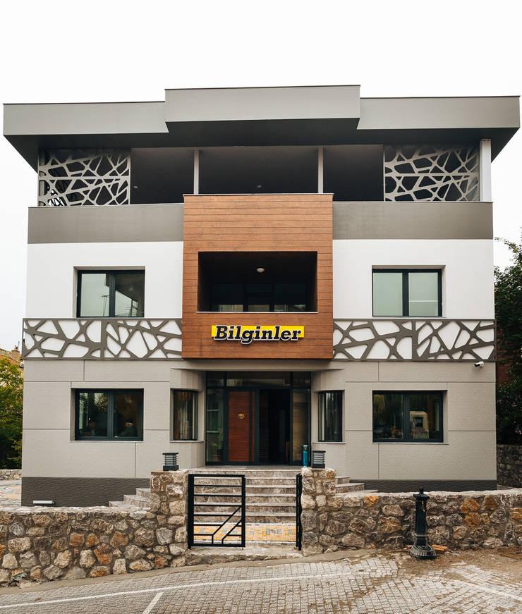 Bilgece Tasarım – Bilginler Beton Yönetim binası:  tarz Ofis Alanları, Modern
