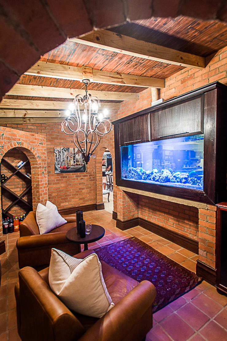 Tuscan Nights:  Wine cellar by House of Decor, Classic