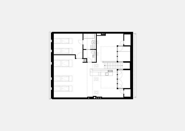 attic floor plan:   by brandt+simon architekten