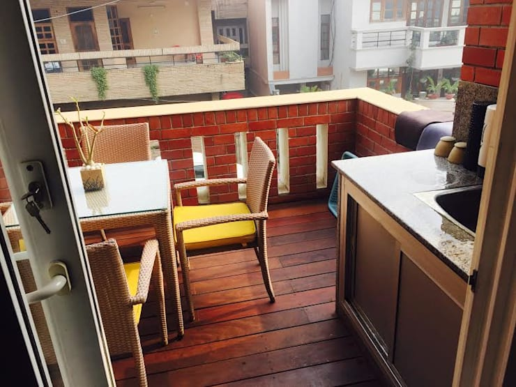 Kitchen Design:  Terrace by Akaar architects
