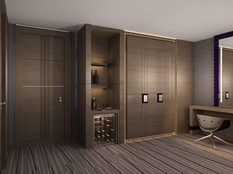 Gür Mobilya – The Plaza Hotel : modern tarz , Modern Ahşap Ahşap rengi
