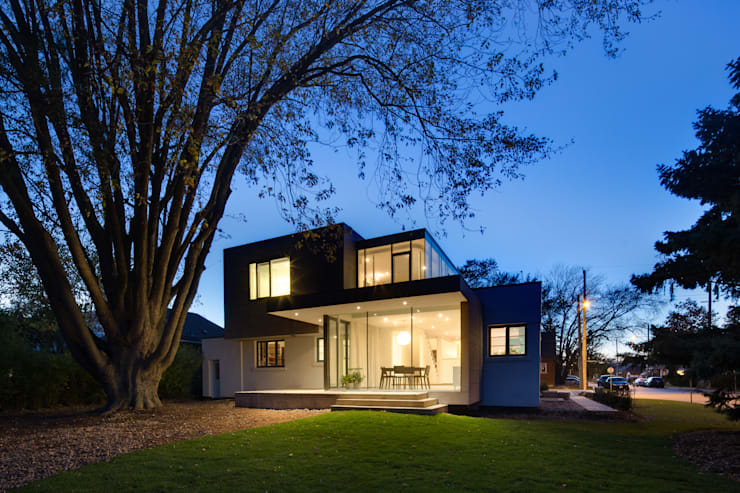 Casas de estilo  por dpai architecture inc