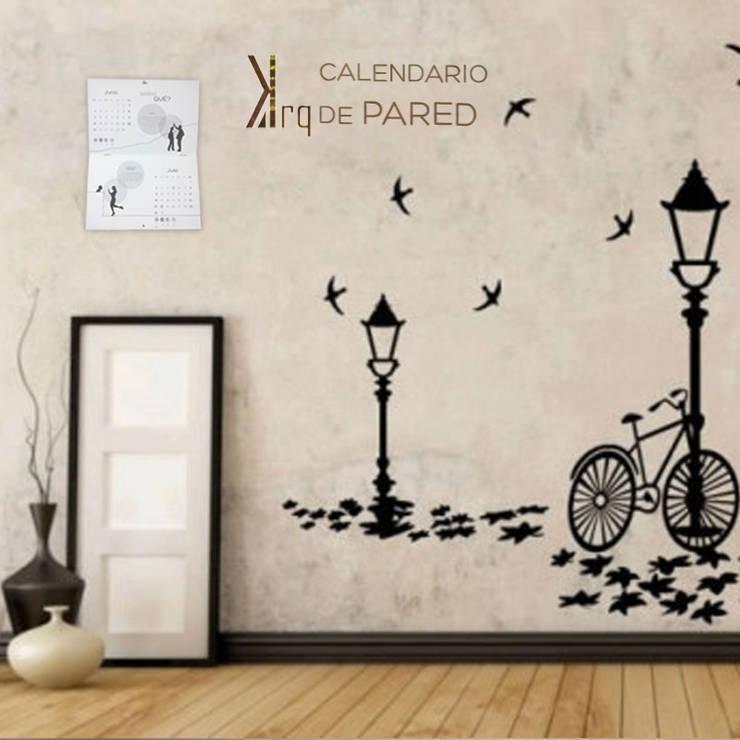 Calendario de pared: Arte de estilo  por Katherine Aguilar