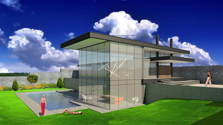 Cuarto de Juegos: Casas de estilo  por VOLEVA arquitectos