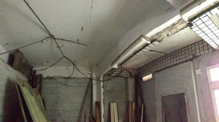 天花板未做整理:   by 慶澤室內裝修工程有限公司