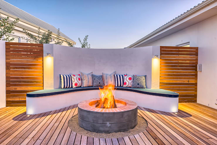 Atlantic Drive:  Patios by House Couture Interior Design Studio