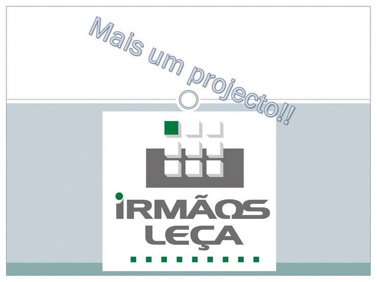 Projeto de decoração de moradia:   por IRMÃOS LEÇA DE FREITAS, LDA