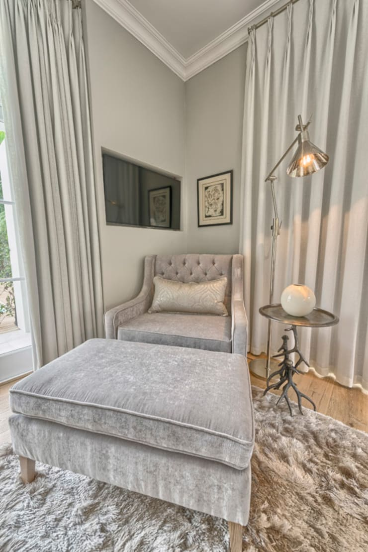 Eclectic style bedroom by House Couture Interior Design Studio Eclectic
