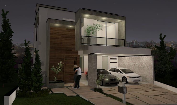 Casas de estilo  por projetos26