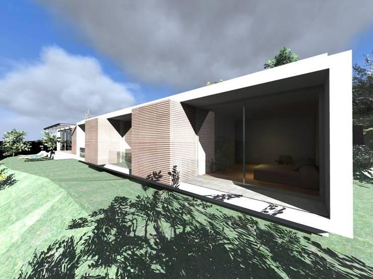 "Vivenda Unifamiliar ""RT"": Casas  por Traço M - Arquitectura"