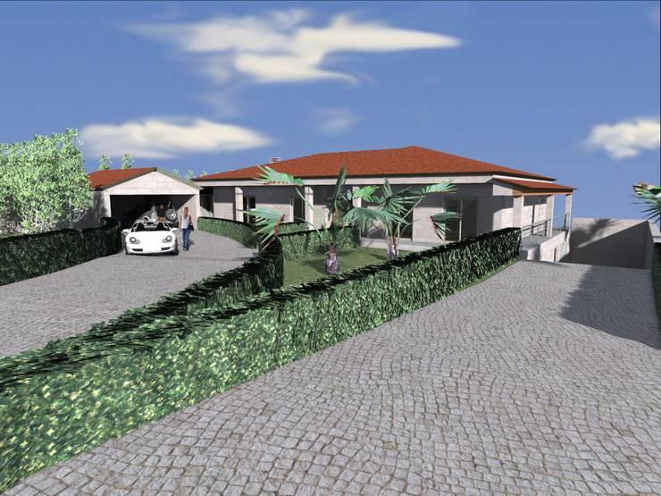 "Vivenda Unifamiliar ""JMSC"": Casas  por Traço M - Arquitectura"