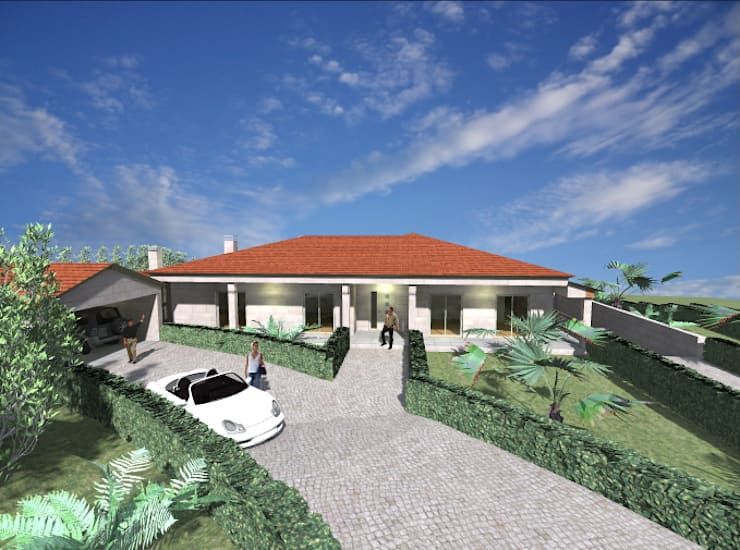 Vivenda Unifamiliar <q>JMSC</q>: Casas  por Traço M - Arquitectura