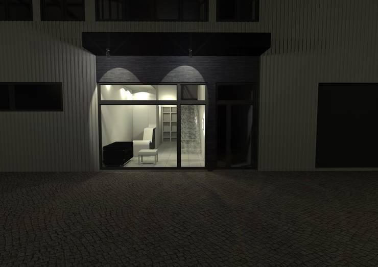 Recepção Empresa de Calçado: Casas  por Traço M - Arquitectura