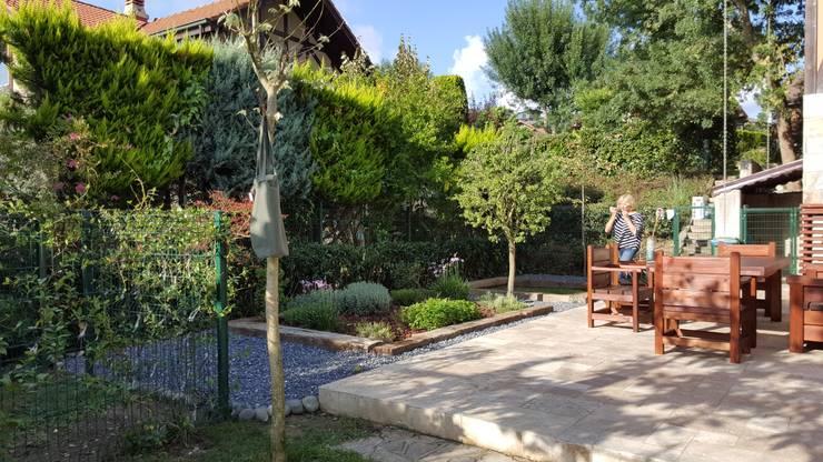 Projekty,  Ogród zaprojektowane przez abelia peyzaj