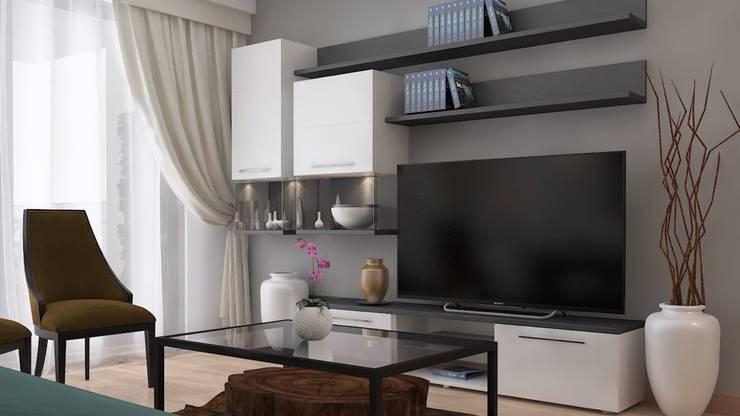 Mandalin Dizayn – Ağaoğlu 1453 3D Tasarım Projesi: modern tarz , Modern