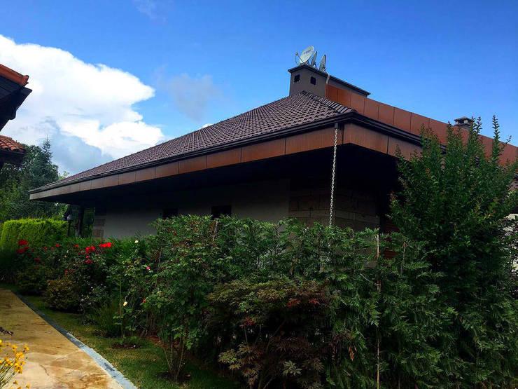 Mandalin Dizayn – İstanbul Ömerli Riverside Evleri Villa Projesi:  tarz Evler