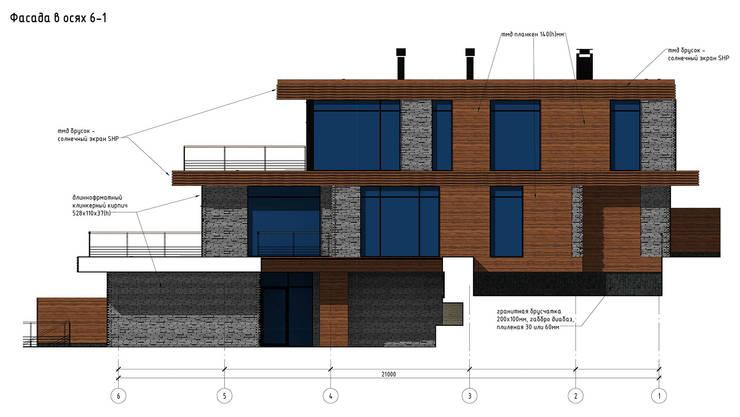 FLY house / Частный дом в МО на берегу водохранилища:  в . Автор – BOOS architects