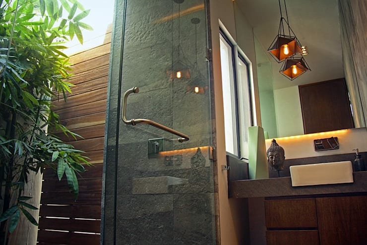 Baños de estilo  por Narda Davila arquitectura