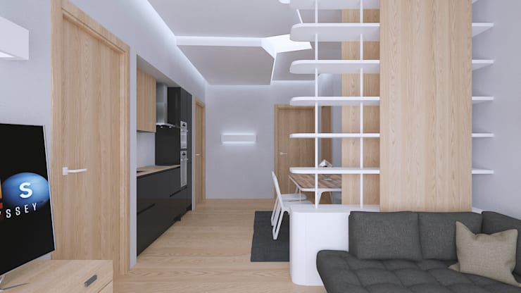 Woonkamer door Bledi Skora Design