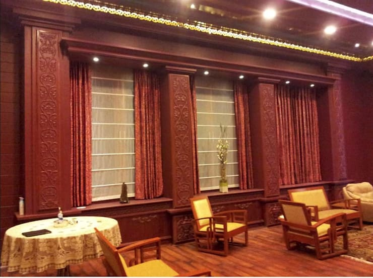 Sogani's Residence : classic Dining room by JJ Architect