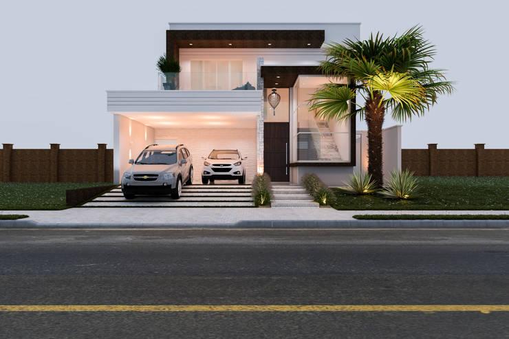 Rumah by Daniele Galante Arquitetura